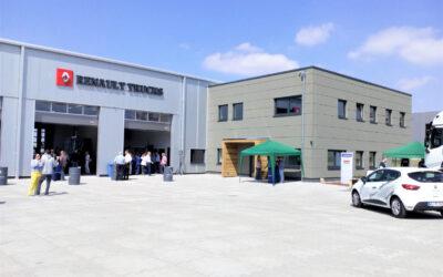 Eröffnung der LKW Werkstatt in Hollenstedt